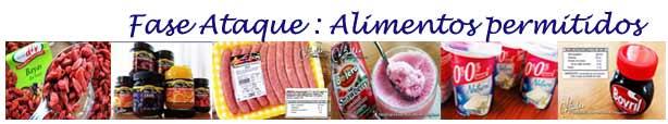Ataque Alimentos permitidos (dieta Dukan)