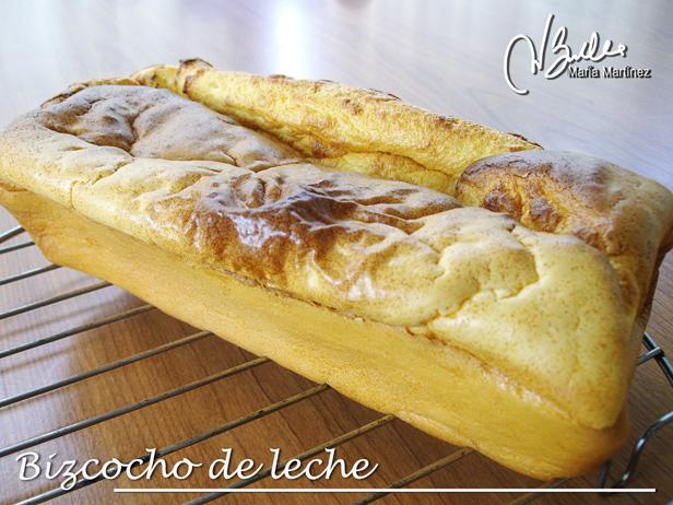 Bizcocho Dukan  de Leche