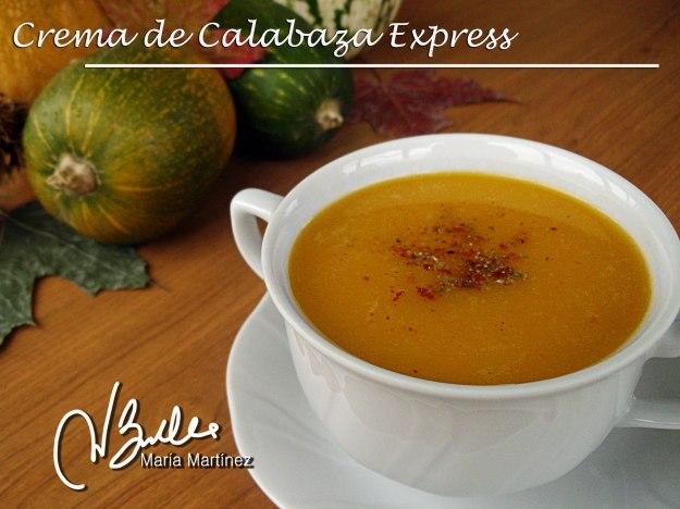 Recetas Dukan en Vídeo Crema de Calabaza Express