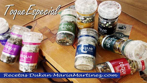 Especias dieta Dukan Ataque