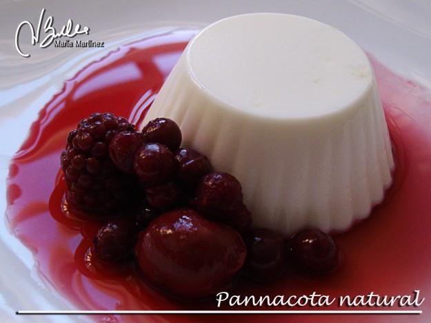Recetas Dukan: Pannacota con frutos rojos