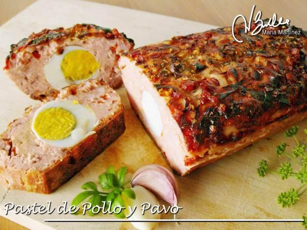 Recetas Dukan: Pastel de Pollo y Pavo