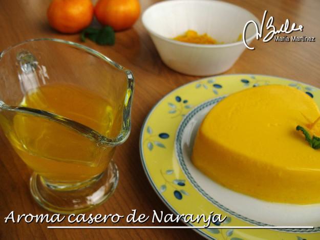 Recetas Dukan: Aroma casero de Naranja