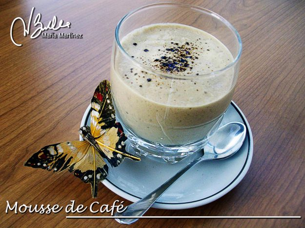Recetas Dukan: Mousse de Cafe