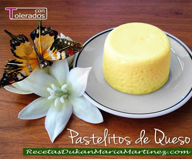 Pastelitos Dukan de Queso en Microondas: un postre rápido, fácil y muy, muy rico