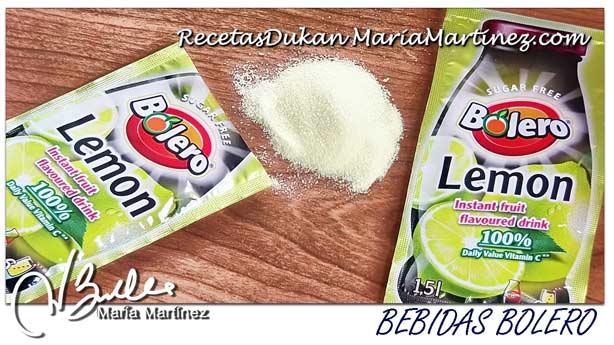 Limon granizado sin azucar dukan