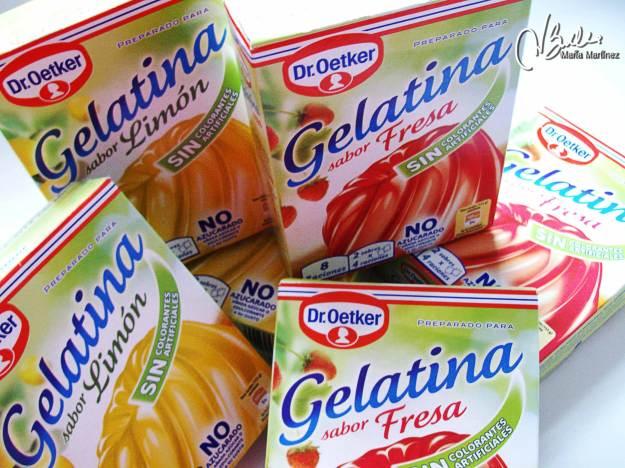 Recetas Dukan: gelatina sin azúcar