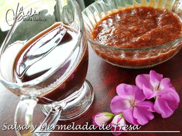 Recetas Dukan: Salsa y Mermelada de Fresa