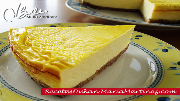 Tarta Dukan de Queso y Galleta / Dukan New York Cheesecake
