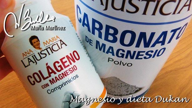Calambres en las piernas y dieta Dukan: la importancia del Magnesio