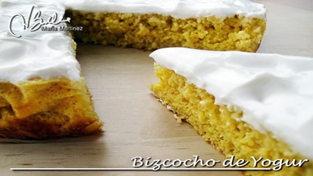 Bizcocho Dukan de Yogur sin yemas
