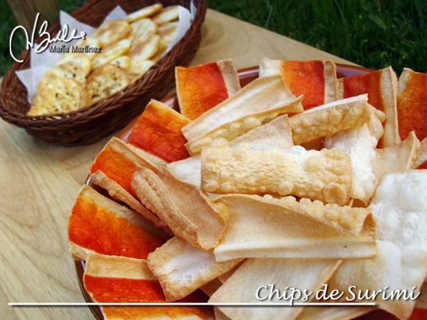 Chips de Surimi: Recetas Dukan