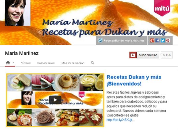 RecetasDukan_YoutubeOne