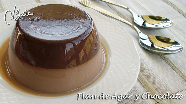Flan Dukan Agar y Chocolate: Recetas dieta Dukan