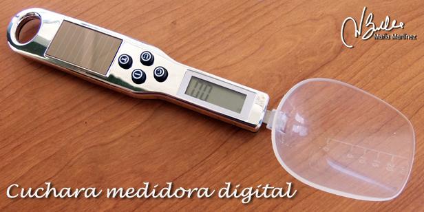 Como medir el Agar Agar: Cuchara Medidora Digital