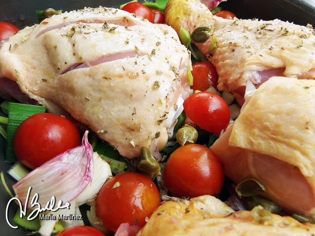 Dieta Dukan Receta Pollo