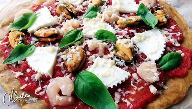 Pizza Dukan Sin Salvados
