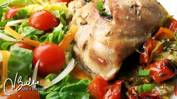 Pollo Dieta Dukan Receta Provenzal