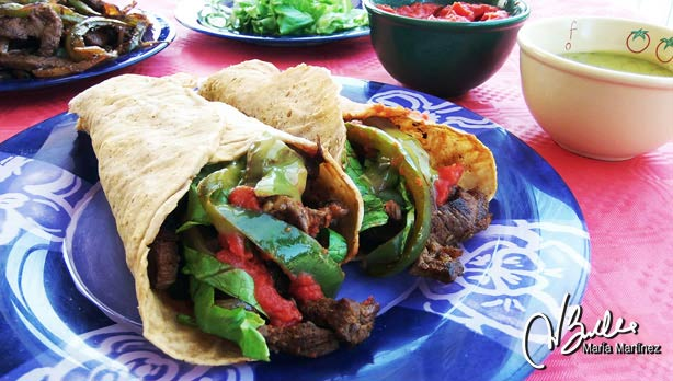 Burritos Dukan Maria Martinez