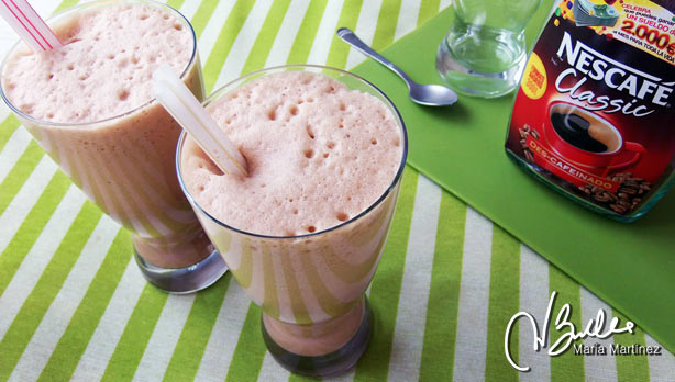 Cafe Frappe Dukan Maria Martinez