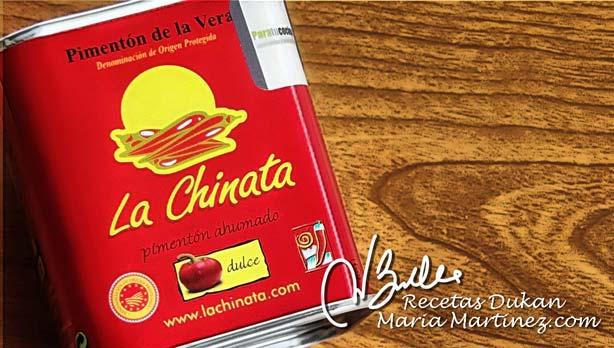 Condimentos permitidos Dukan: pimentón dulce (paprika)