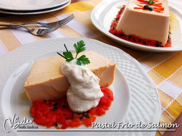 Pastel de Salmón Dieta Dukan