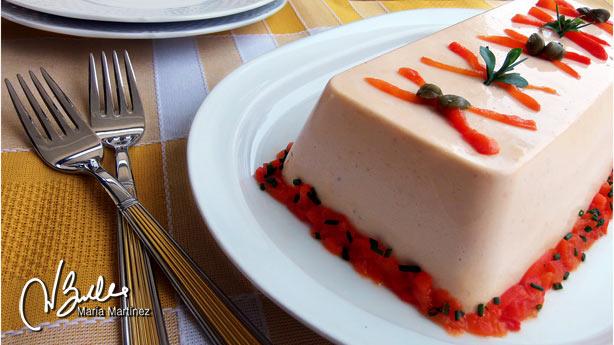 Pastel Frio de Salmon Dukan Maria Martinez