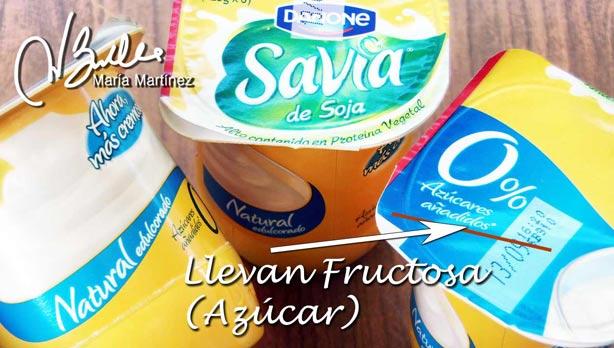 Savia de Soja: llevan Fructosa
