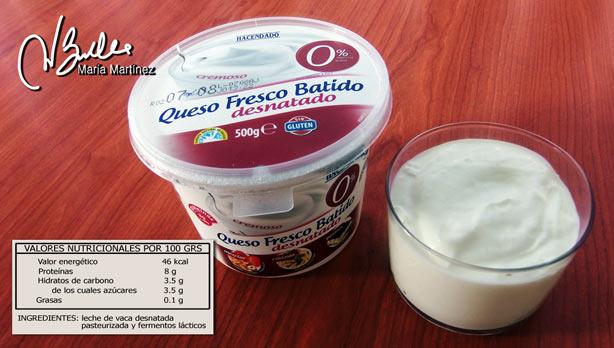 Quesos permitidos para la dieta Dukan: queso fresco batido 0%
