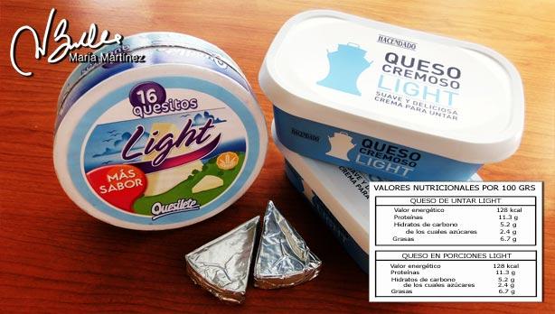Quesos permitidos en la dieta Dukan: quesos light (tolerados)