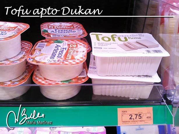 Tofu en Mercadona ¿es Dukan?
