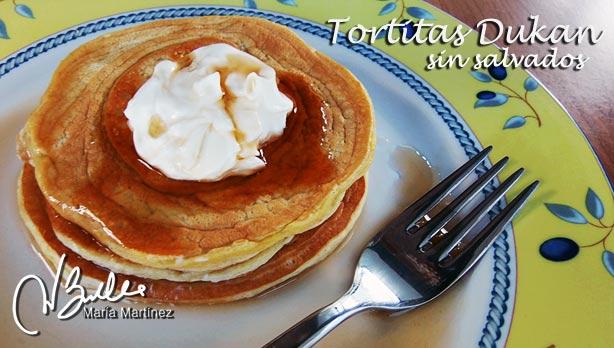 Desayunos Dukan fase Ataque: Tortitas-Americanas-sin-Salvado
