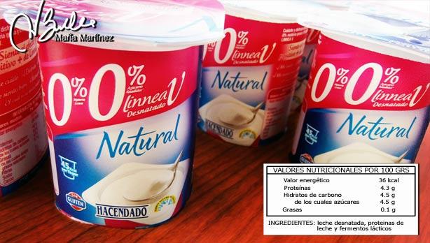 Yogurt Natural Light Casero