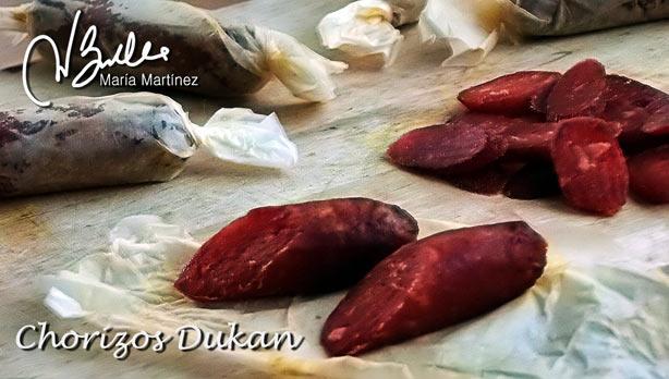 Chorizo Dukan de Ternera Curado, Receta