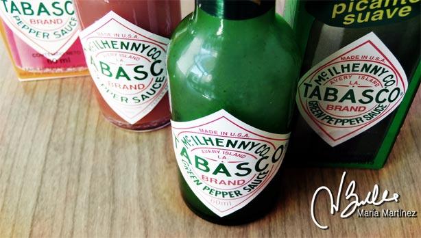 Salsa Tabasco roja o verde: apta Dukan desde Ataque