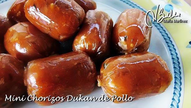 Chorizos Dukan de Pollo: