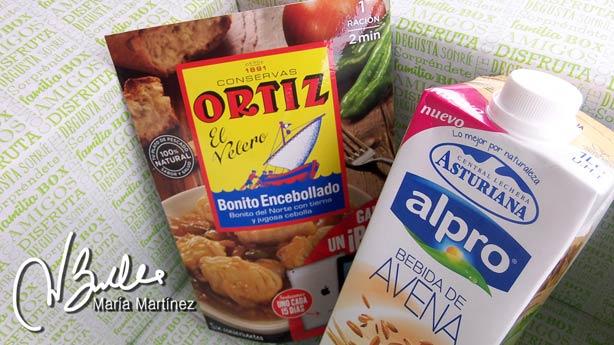 Degustabox Septiembre:  productos aptos Dukan