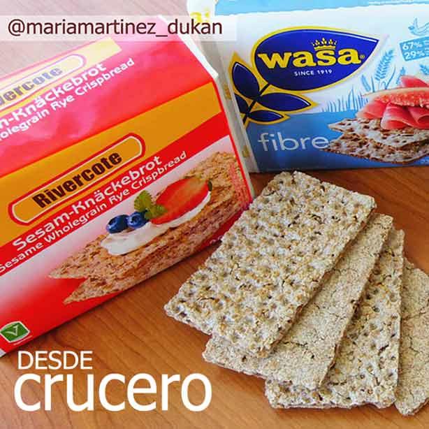 Pan Wasa Dukan: nuevos alimentos en la dieta Dukan (2015)