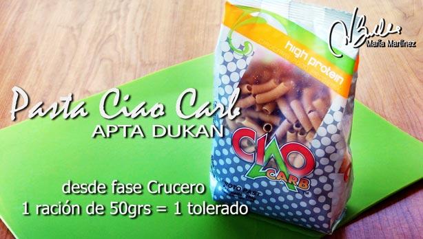 Proto pasta Ciao Carb: arroz y pasta aptos para Dukan