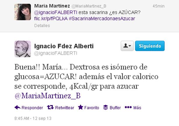 Respuesta de Ignacio Fdez Alberti