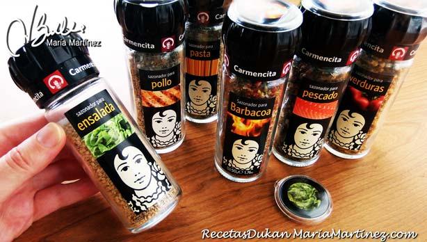 Condimentos permitidos dieta Dukan (desde Ataque)