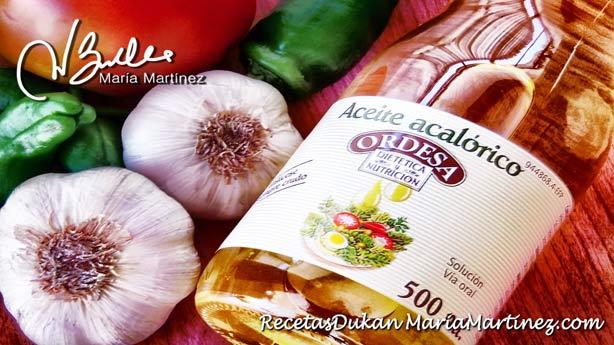 Salsa Dukan fase Ataque: salsas con aceite acalórico