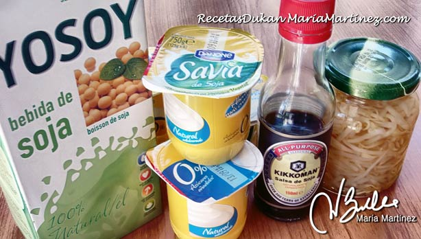 Soja y dieta Dukan
