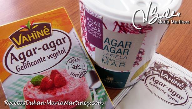 Super alimentos Dukan: Agar Agar, la gelatina vegetal