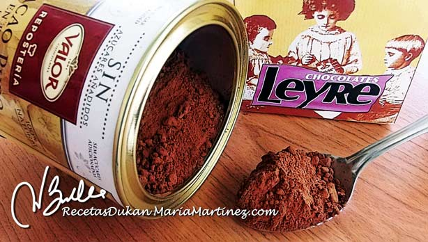 Super Alimentos Dukan: Cacao Puro desgrasado sin azúcar
