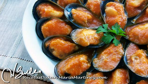 Mejillones Dukan en salsa, Crucero PV