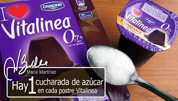 Nuevos Postres Vitalínea:  sin grasa pero con azúcar