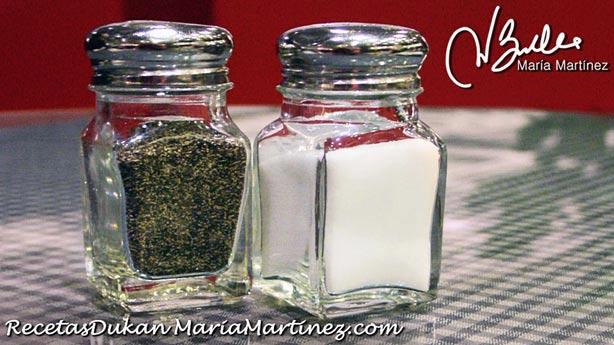 Sal y dieta Dukan