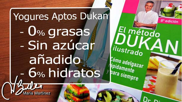 Yogures aptos para la dieta Dukan:  requisitos