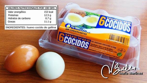 Huevos Cocidos Dieta Dukan en Mercadona